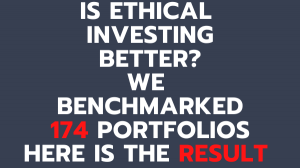 Is Socially Reponsible Investing better? We tested 174 portfolios.