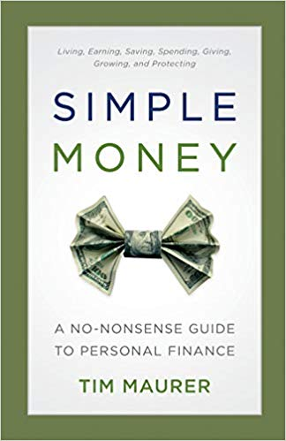 simple money tim maurer book